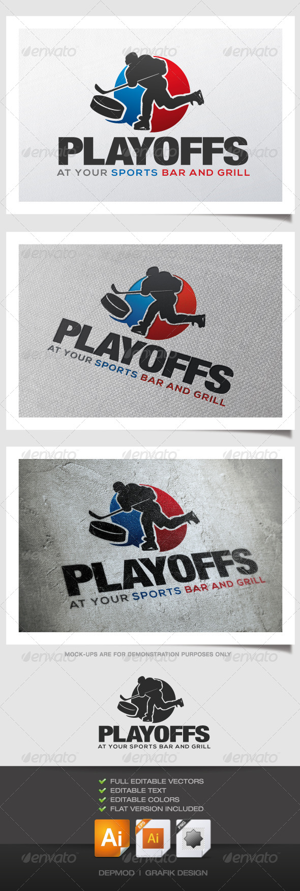 GraphicRiver Playoffs Logo 4490723