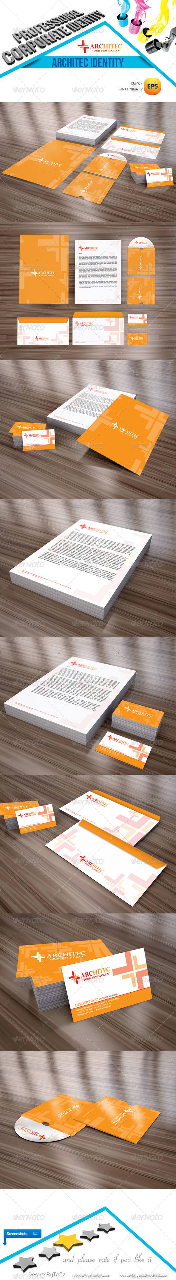 GraphicRiver Architec Corporate Identity Package 4399380