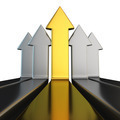 Metal vertical arrows - PhotoDune Item for Sale