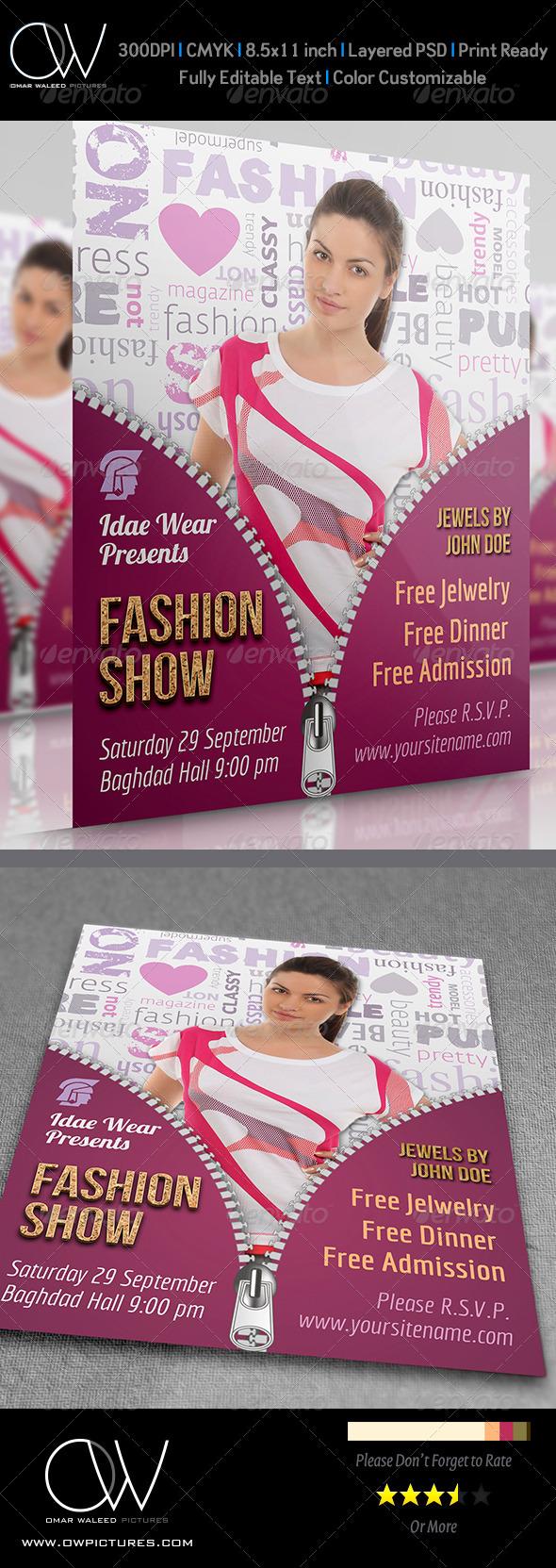 GraphicRiver Fashion Flyer 4491226