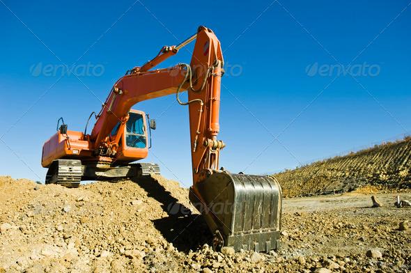 PhotoDune Excavator 475769