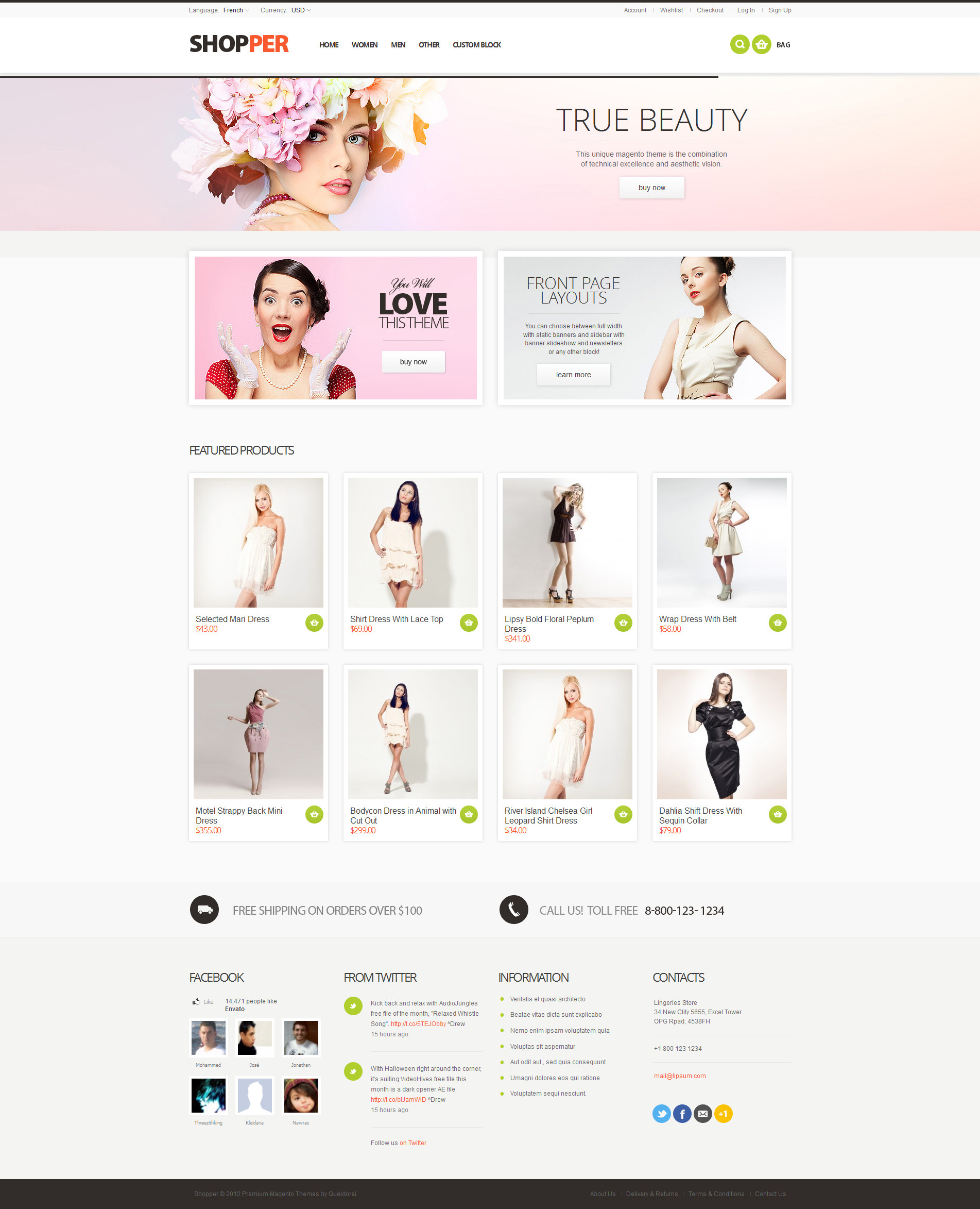 Shopper - Magento Theme, Responsive & Retina Ready