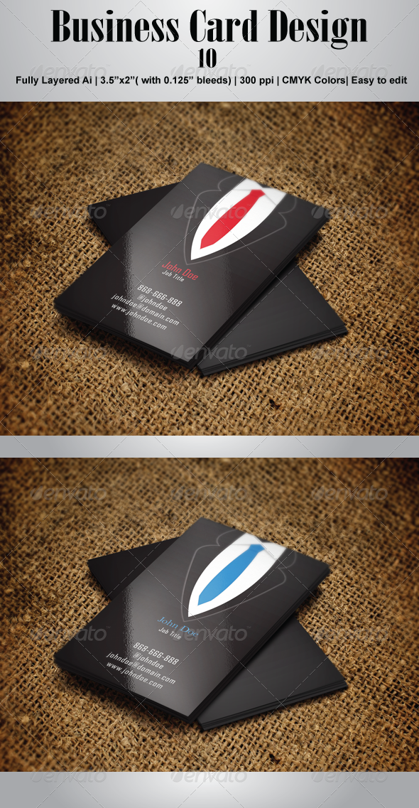 GraphicRiver Business Card 10 4491990