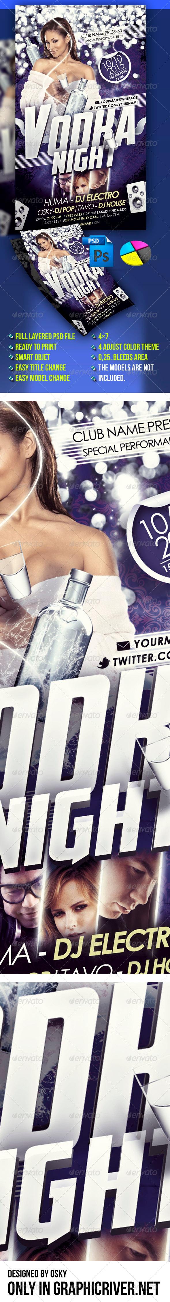 GraphicRiver Vodka Night 3864776