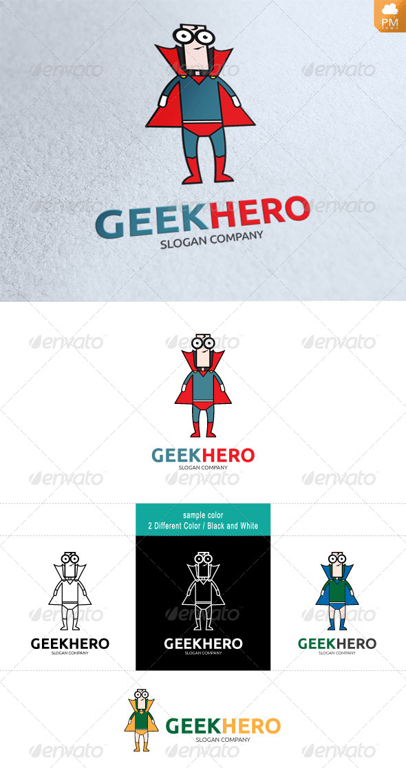 GraphicRiver Geek Hero 4492728