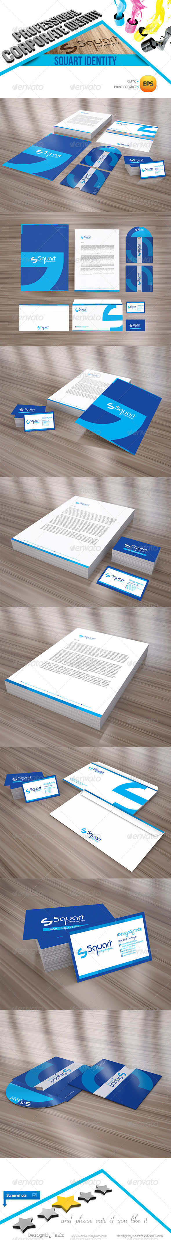 GraphicRiver Squart Corporate Identity Package 4360502