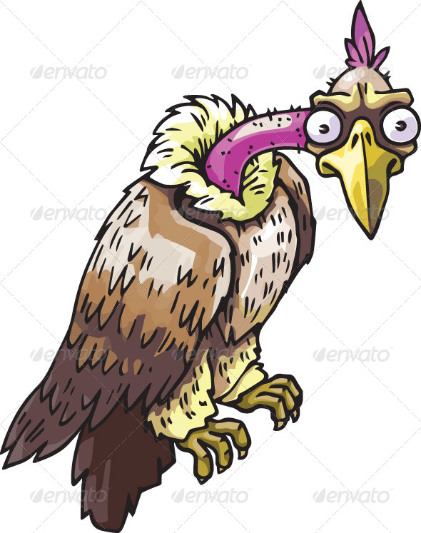 Vulture - Animals Characters