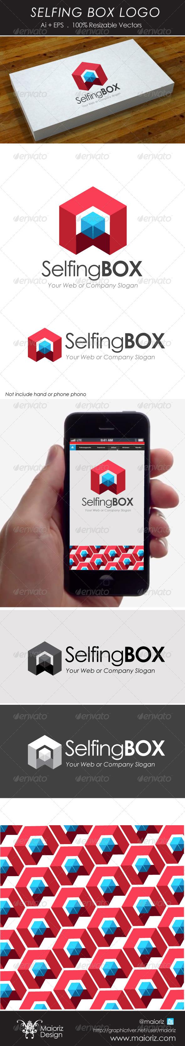 Selfing Box Logo - 3d Abstract