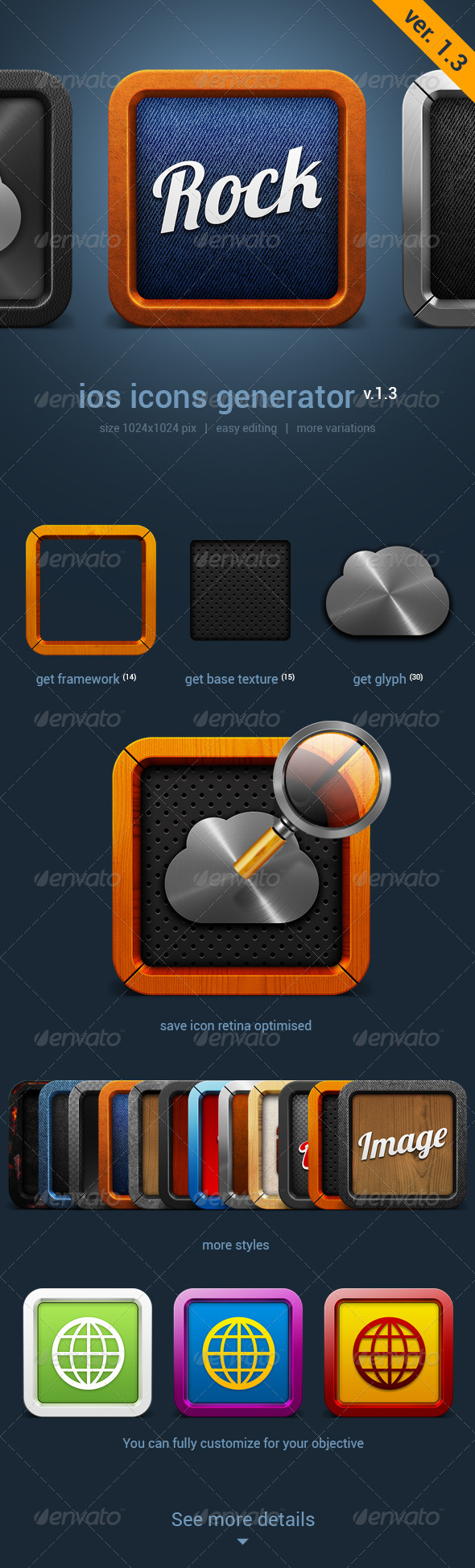 GraphicRiver iOS Icon Generator V.1.3 4493625