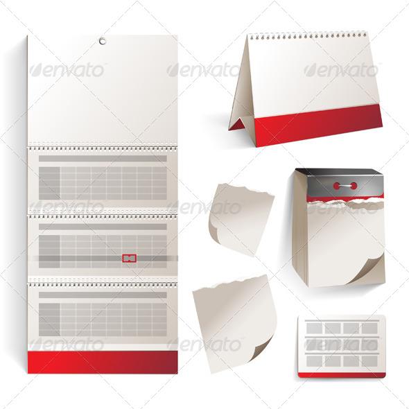 GraphicRiver Calendar Types 4493706