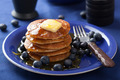 pancakes with syrup and blueberry - PhotoDune Item for Sale