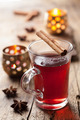 glass of mulled wine - PhotoDune Item for Sale