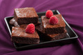 brownies with raspberry - PhotoDune Item for Sale