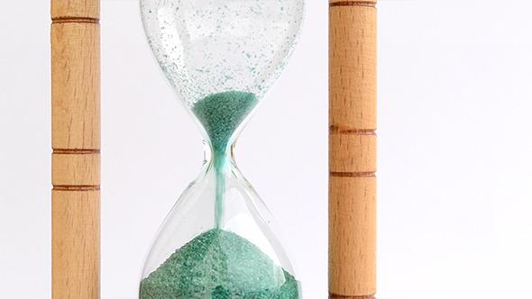 Hour Glass Lower Bulb Fill