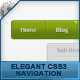 Elegant CSS3 navigation - CodeCanyon Item for Sale