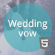 Wedding vow - html responsive template - ThemeForest Item for Sale