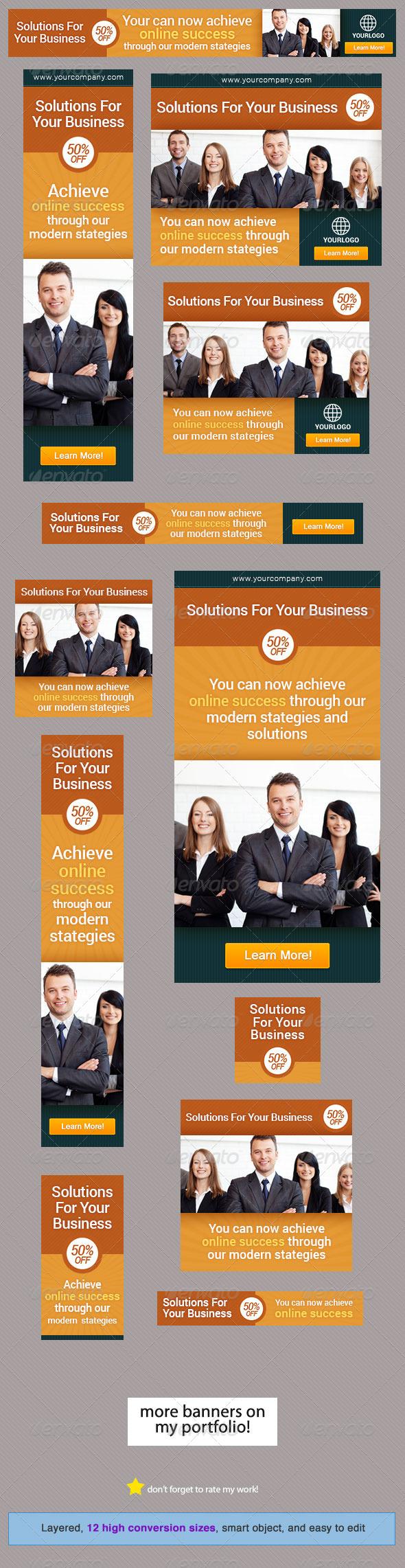 GraphicRiver Corporate Banner Design Template 10 4495749