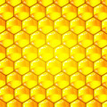 Golden  cells of a honeycomb pattern. Vector illustration. - PhotoDune Item for Sale