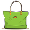 women green canvas bag - PhotoDune Item for Sale