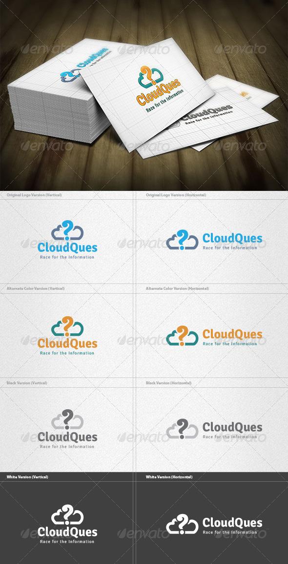 GraphicRiver Cloud Question Logo 4496966