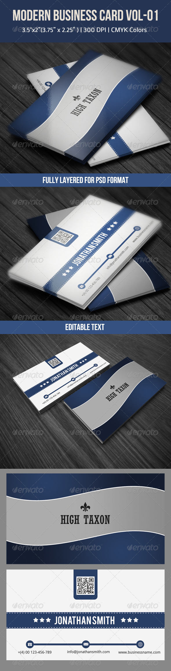 GraphicRiver Modern Business Card 4497823