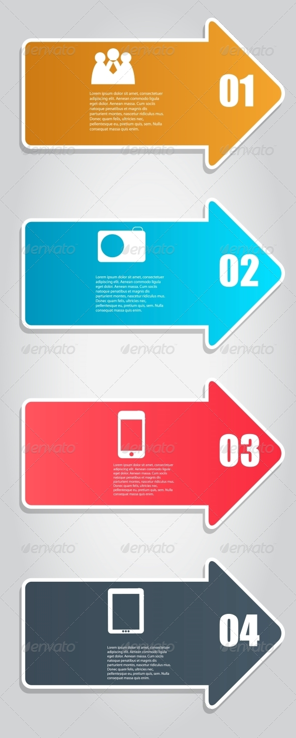 GraphicRiver Infographic Template Business Vector Illustration 4498269