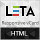 LETA - Responsive Vcard Template - ThemeForest Item for Sale
