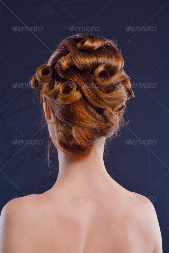 Beautiful Woman Luxury Makeup - Stock Photo - Images