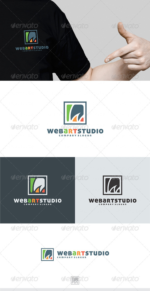 GraphicRiver Web Art Studio Logo 4498536
