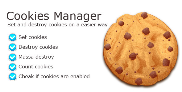 CodeCanyon Cookies Manager Class 4498668