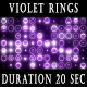 Violet Rings Background - VideoHive Item for Sale