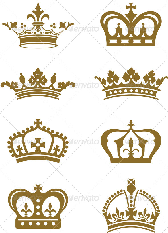 GraphicRiver Crowns 4498840