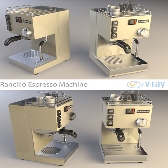 3DOcean Rancilio Espresso Machine 4499406