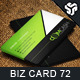 Business Card Design 72 - GraphicRiver Item for Sale