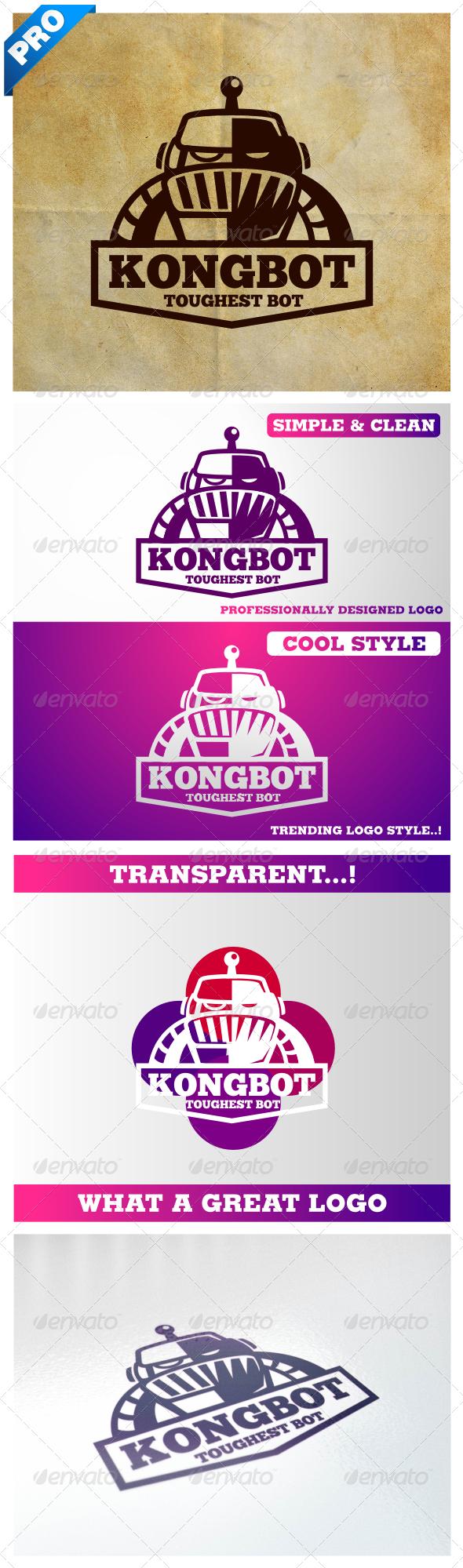 Vintage Retro Robot V.2 Kongbot