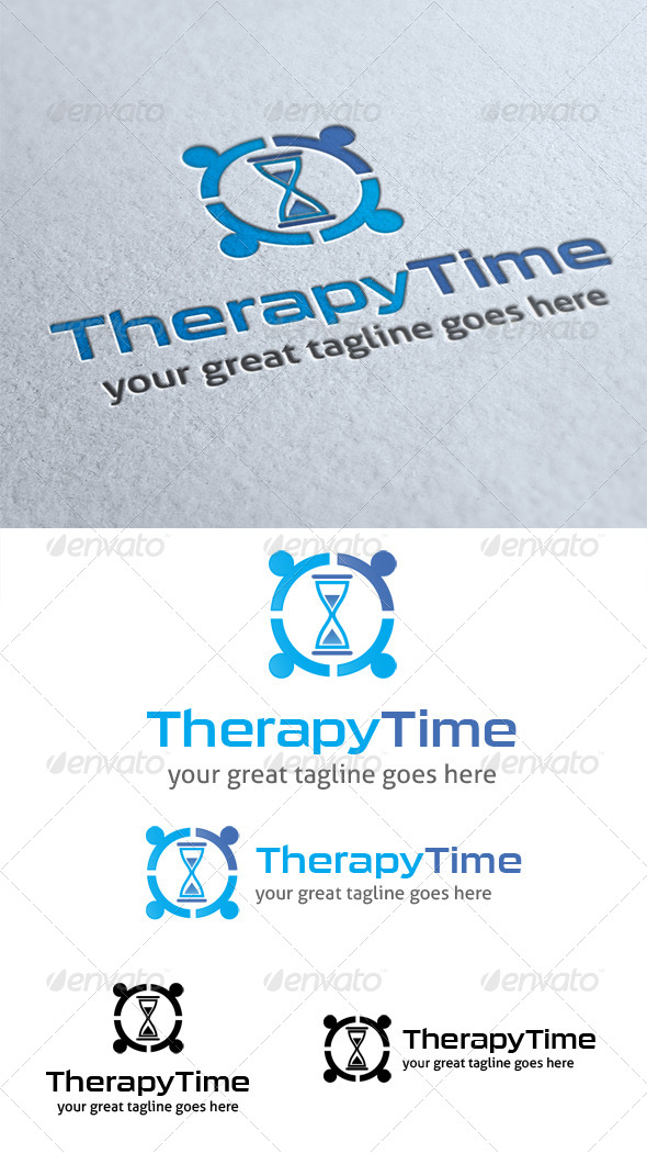 GraphicRiver Therapy Time Logo 4440722