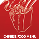 Elegant Chinese Food Menu Flyer Template - GraphicRiver Item for Sale