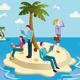 Books Island - GraphicRiver Item for Sale