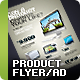 Product flyers / Ads · A4 + Letter - GraphicRiver Item for Sale