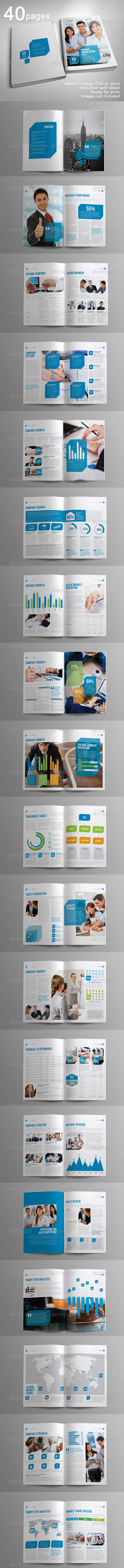 GraphicRiver 40 Pages Indah Corporate Brochure Volume 3 4500898