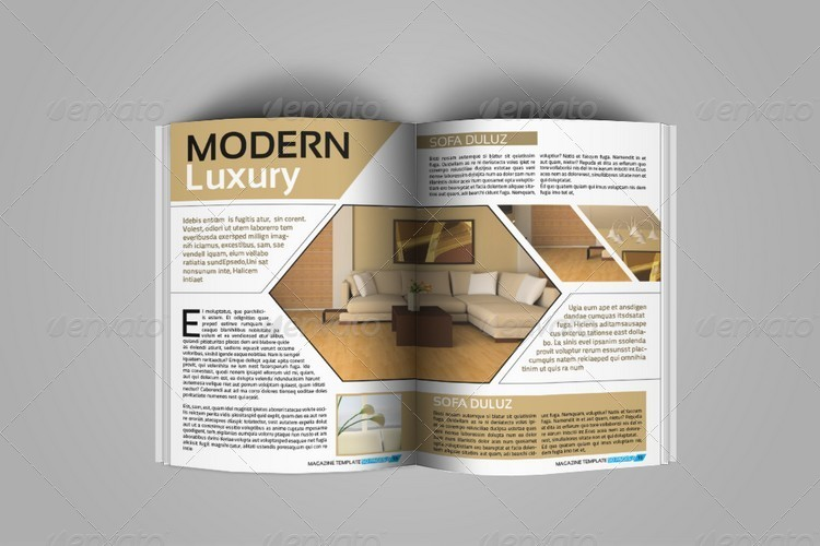 Magazine Templates For Pages Creative Indesign Magazine Template 50 Pages By Jazh