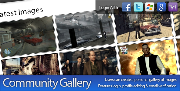 CodeCanyon Community Gallery Manager 476680