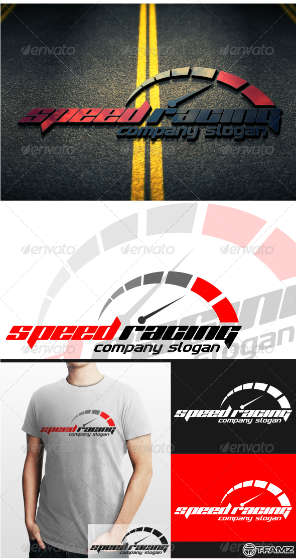 GraphicRiver Speed Racing 4502739