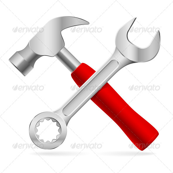 GraphicRiver Tools for Repair 4502813
