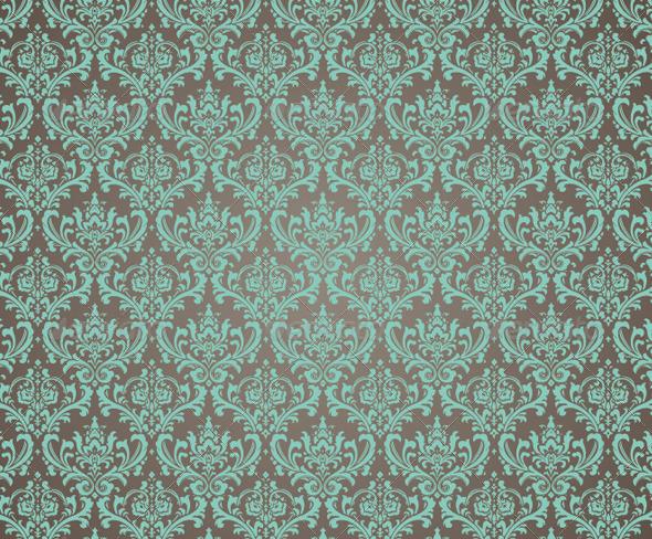 GraphicRiver Ornate Damask Seamless Pattern 4504614