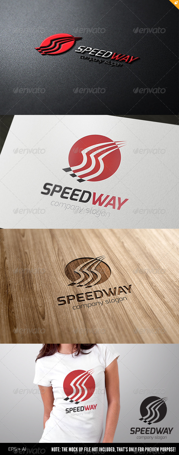 GraphicRiver Speed Way Logo 4505150