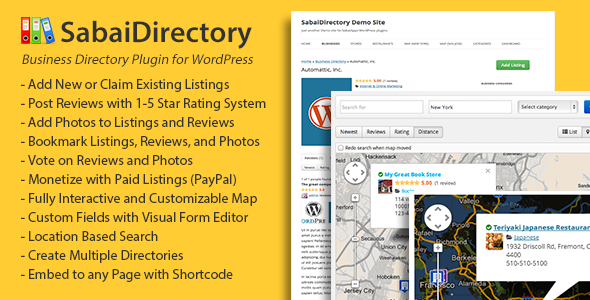 SabaiDirectory for WordPress - CodeCanyon Item for Sale