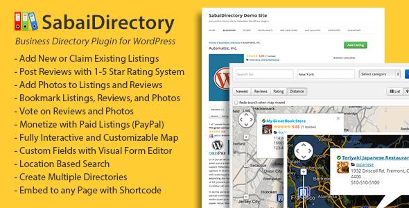 SabaiDirectory v1.2.21 for WordPress | CodeCanyon