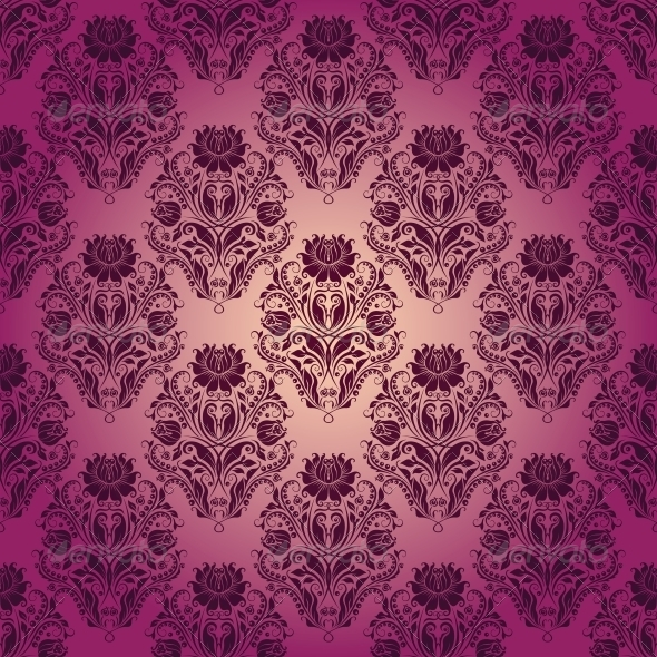 GraphicRiver Damask Seamless Floral Pattern 4506313