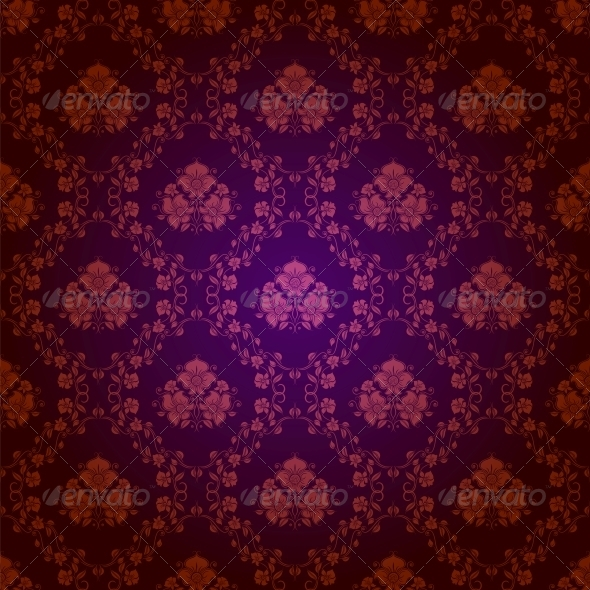 GraphicRiver Damask Seamless Floral Pattern 4506451